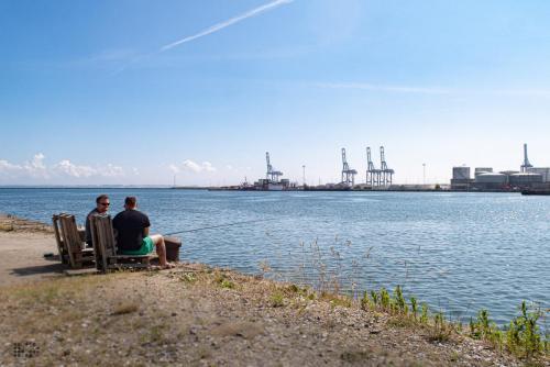 strukturgewandelter Hafen